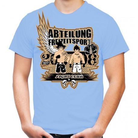 "T-Shirt ""Fight-Club"" blau"