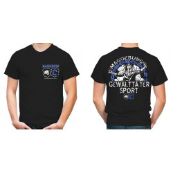 "T-Shirt ""Magdeburg Gewalttätersport"""
