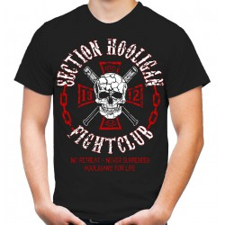 "T-Shirt ""Section Hooligan Fightclub"" (Frontdruck)"
